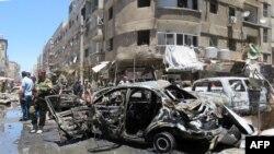 Сириядагы 11-июнда болгон жардыруу