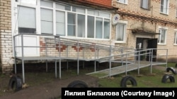 Пандус в доме Николая