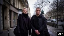 Пётр Павленский и Оксана Шалыгина в Париже