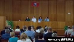 Севастополь, занятие для управляющих компаний и председателей домкомов, 30 сентября 2016 года