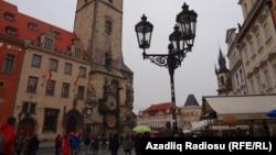 Здания в Праге, столице Чехии.