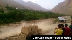 Vërshimet në rajonin e Badakhshanit