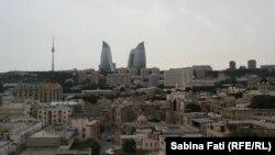 Vedere a capitalei azere, Baku