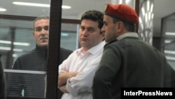 Бывший министр внутренних дел Грузии Бачо Ахалая в день своего задержания. Тбилиси, 7 ноября 2012 года.