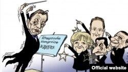 Недавняя карикатура на Виктора Орбана