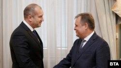 Румен Радев и Георги Чолаков