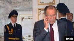 У переговорах у Берліні візьме участь міністр закордонних справ Росії Сергій Лавров (на фото)