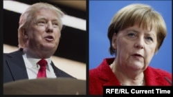 Donald Trump dhe Angela Merkel