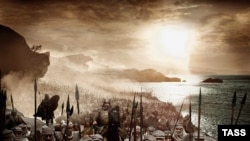 "Tehran objected to the depiction in the film ""300"" of ancient Persians in the Battle of Thermopolyae."