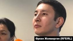 Әнуар Жайнақов, Қазақстан сыртқы істер министрлігінің баспасөз хатшысы. Астана, 14 қараша 2017 жыл.