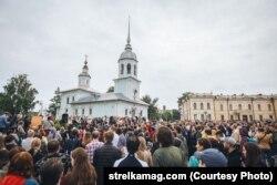 """Митинг """"За зеленую набережную"""" 24 июля"""