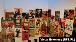 Afișe electorale din epoca Republicii de la Weimar expuse la expoziția de la SCHIRN, Frankfurt pe Main