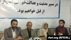 شماری از اعضای نهادهای مدنی در هرات
