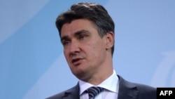 Croatian Prime Minister Zoran Milanovic