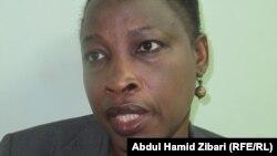 الناشطة في حقوق الانسان نعمات احمداي من دارفور