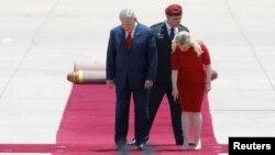 Нетаньяху с супругой перед встречей с Дональдом Трампом