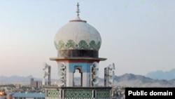مسجد مکی اهل سنت در شهر زاهدان، مرکز سیستان و بلوچستان