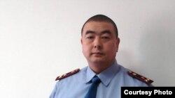 Қазақстан İİМ-нің айрықша істер бойынша тергеушісі Гаши Машанло. officer of Kazakhstan Interior ministry. Almaty, Feb2009