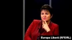Ana Guțu în studioul Europei Libere, 14 februarie 2016