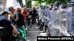 In May, antigovernment protesters faced off against riot police in Bosnia, a semifailed state with polarized politics.