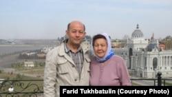 Фарид Тухбатуллин со своей матерью Халидой Избастинова