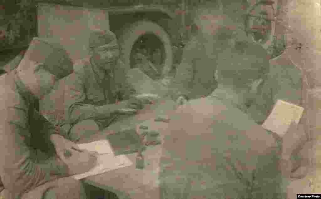 Маткерим Рахманбердиев экинчи Дүйнөлүк согуш башталган биринчи күндөн тарта анын акырына чейин фашисттик баскынчылар менен салгылашкан.