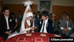 Церемония заключения брака. Иллюстративное фото.
