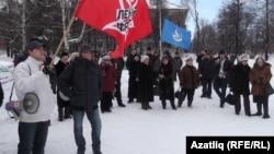 Пикет против высоких тарифов, Уфа