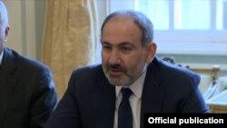 Премьер-министр Армении Никол Пашинян в Бельгии, 4 марта 2019 г.