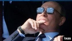 В.В. Путин на открытии авиационно-космического салона МАКС-2019 в Жуковском