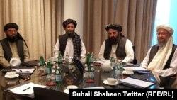 قطر کې د طالبانو پلاوی