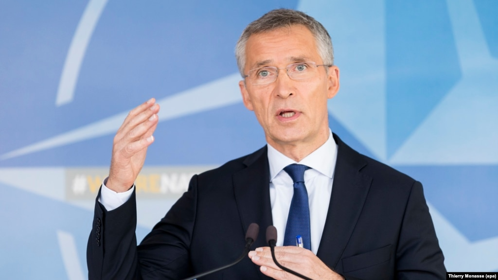 NATO Chief Urges Transparency Ahead Of Belarus War Games