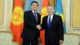 Азия: глава Кыргызстана приехал с визитом примирения в Казахстан
