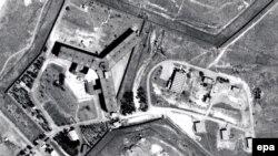 Pamje nga lartë e burgut Sajdnaja në Siri ku AI dyshon se janë kryer ekzekutimet