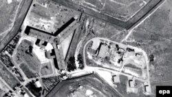 Військова в'язниця Седная в Сирії на супутникових знімках