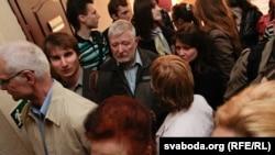 Судењето на Андреј Саникау
