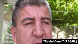 Глава Хатлонского областного комитета по делам религии Бобохон Шарбатов.