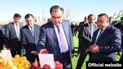 Таджикский президент Эмомали Рахмон.