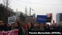 Manifestim antiqeveritar në Prishtinë