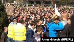 Protest protiv saradnje sa Turskom