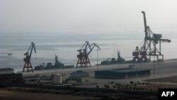 Porti në Gwadar, Pakistan