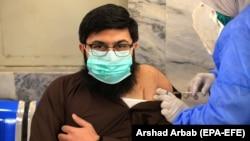 Вакцинация в Пакистане. 12 февраля 2021 года