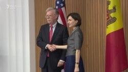 John Bolton: Menținerea integrității teritoriale și a suveranității Moldovei este crucială pentru SUA