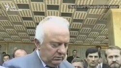 Визит Аслана Масхадова в Тбилиси. Видеохроника