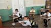 Երևանյան դպրոցներից մեկում, սեպտեմբեր, 2020թ.