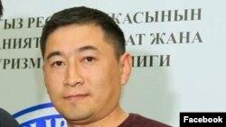 Эрлан Догдурбеков, ЭлТРдин башкы директору. Сүрөт анын «Фейсбуктагы» баракчасынан алынды.