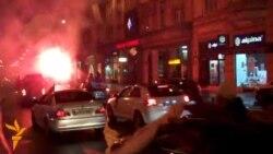 Sarajevo slavi pobjedu reprezentacije BiH