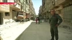 Сирия: расследование предполагаемой химатаки в пригороде Дамаска (видео)
