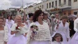 Парад невест и жен в Тирасполе