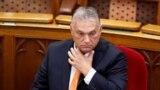 Orbán Viktor kormányfő a parlamentben 2021. szeptember 20-án